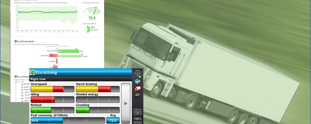 Vehco Eco-Driving with Dasboard and Eco-Driving Index